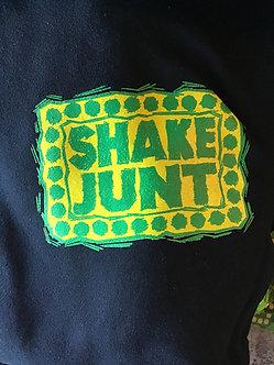 Shake Junt Scratched Brand Logo Hoody