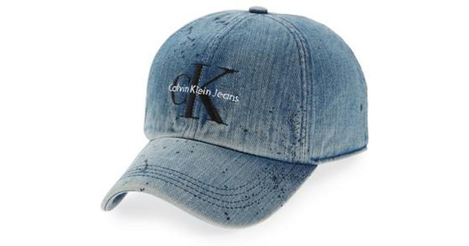 Calvin Klein Denim Cap - Garage Paint