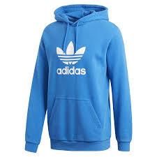 Adidas Trefoil Hood - Blue