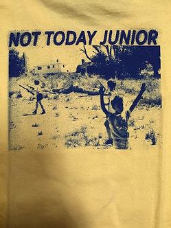 Hockey Not Today Junior Tee Yellow