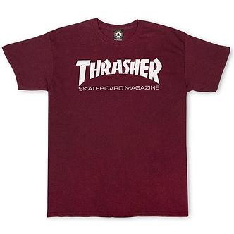 Thrasher The Mag Tee - Maroon