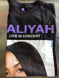 Color bars Aaliyah Concert Tee