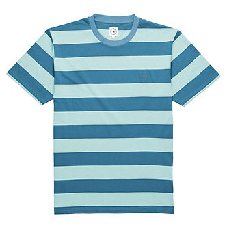Polar x Dear Skating Stripe Tee - Mint/Teal