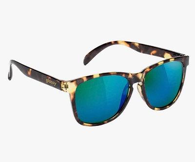 Glassy Eyewear Deric Polarized Tortoise/Green Mirror