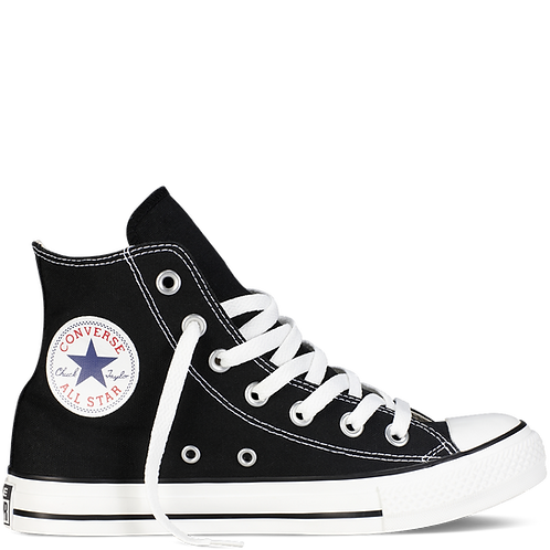 Converse Chuck Taylor All Star Hi (Black)
