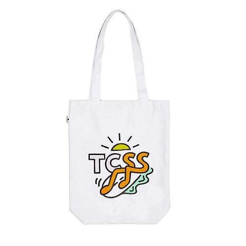 TCSS Flarin' Tote - White