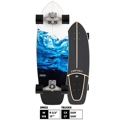 "Carver C7 RAW | 31"" Resin 2020 Surfskate Complete"
