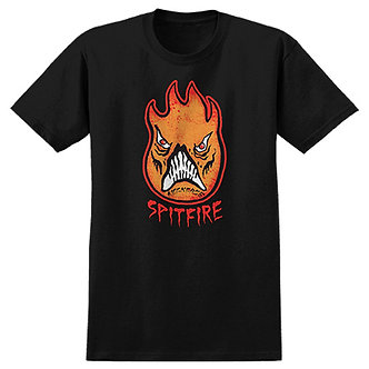 Spitfire x Neckface Big Head Tee - Black