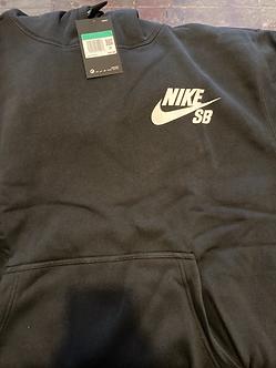 Nike SB Hoodie Check SB Logo