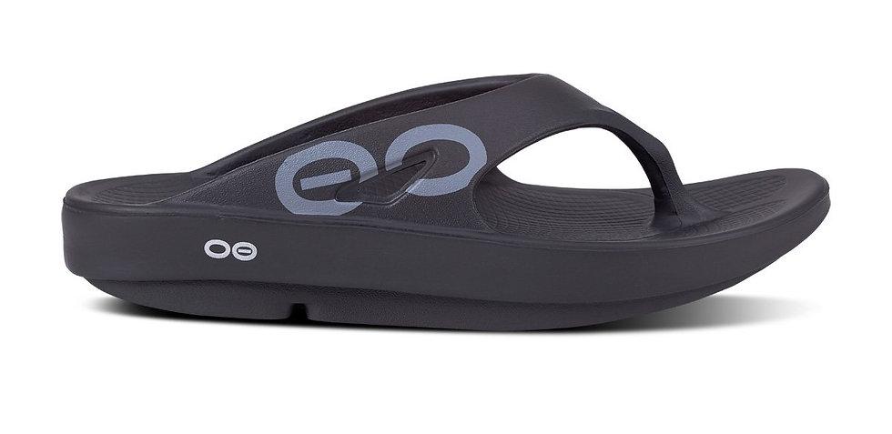 Oofos Ooriginal Sport Sandal - Black [1001]