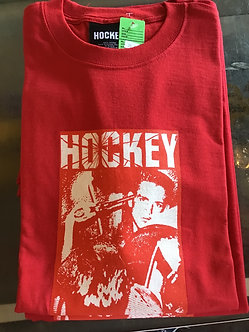 Hockey Tee Revolver Red