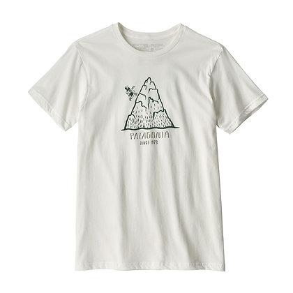 Patagonia Men's Hoofin' It Organic Cotton T-Shirt - WHI [39340]