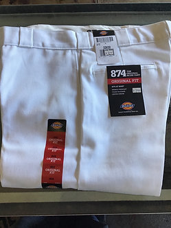 Dickies white pant