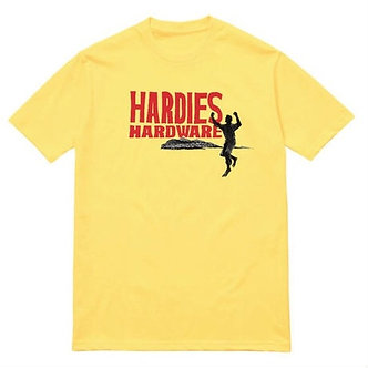 Hardies Running Mountains Tee - Yellow