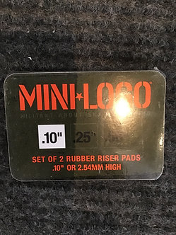 "Mini Logo Risers .10"""