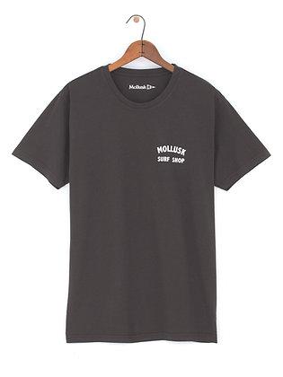 Mollusk Shop Tee - Faded Black