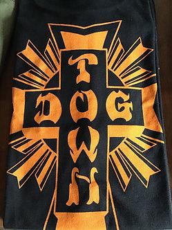 Dogtown Tee Cross Logo Black/Orange