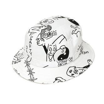 Tenbox Hat Bucket - White