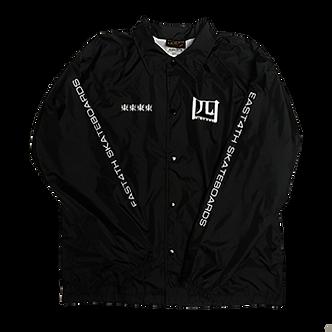 East 4th Skate Heritage Coaches Jacket (Black)