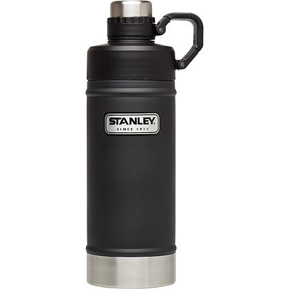 Stanley Classic Vacuum Water Bottle - Matte Black