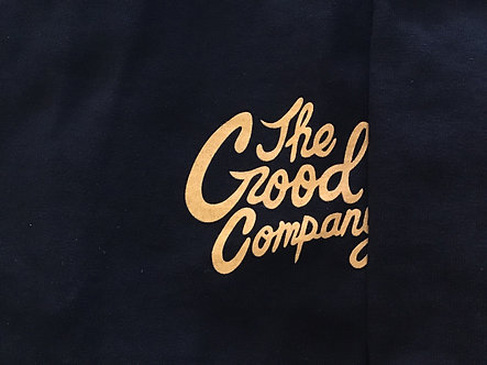 The Good Company - Logo Tee - Black/Gold