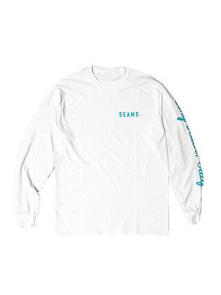 Seams Long Sleeve Tee - White