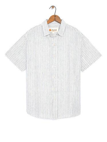 Mollusk Summer Shirt - Railroad Stripe