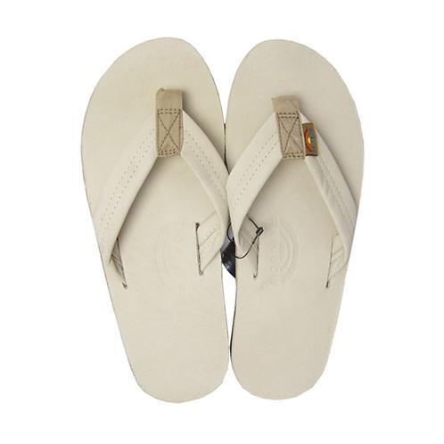 Rainbow 1-Layer Premier Leather Sandal (Sand)