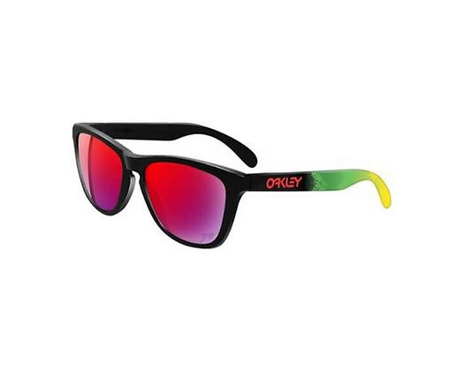 Oakley Frogskins Glasses - Jupiter Camo