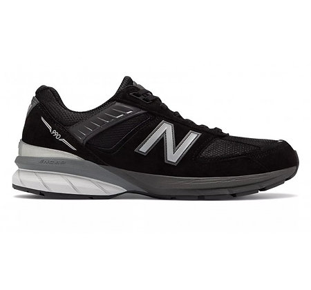 New Balance 990v5 Made in US - Black/Silver