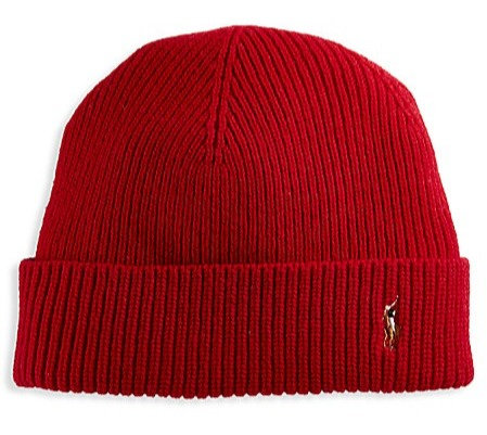 Polo RL - Men's Signature Cold Weather Cuff Hat - Red