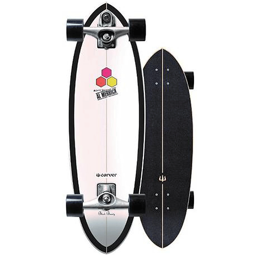 """Carver C7 RAW   31.75"""" CI Black Beauty 2019 Surfskate Complete"""