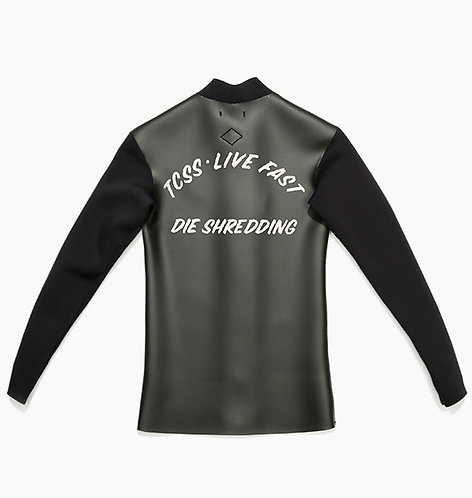T.C.S.S. Live Fast Jumbled Jacket - Phantom