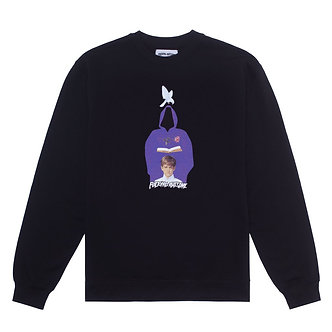 Fucking Awesome Crewneck In The Name Black