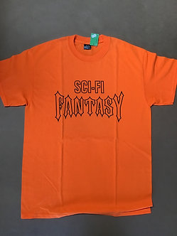 Sci-Fi Fantasy Orange Tee
