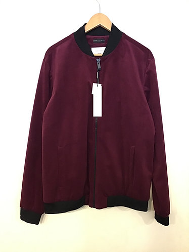 Calvin Klein Bomber Jacket - Spiced Berry