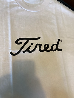 Tired Tee Golf Logo