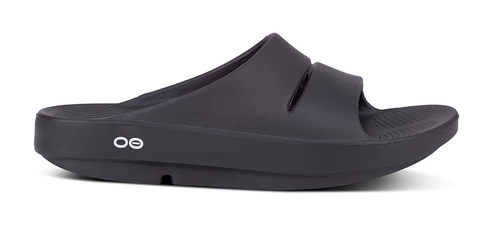 Oofos Ooahh Slide Sandal - Black [1100]