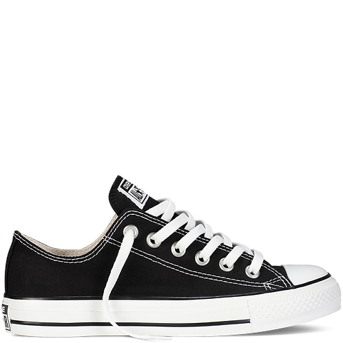 Converse Chuck Taylor All Star Low (Black)