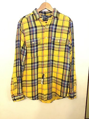 Polo RL Flannel Shirt - Yellow