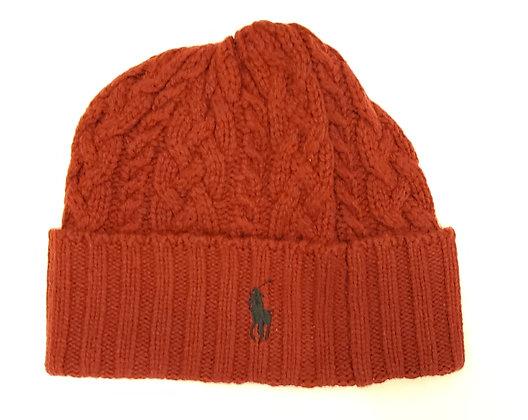 Polo RL - Signature Cuff Wool Beanie - Red