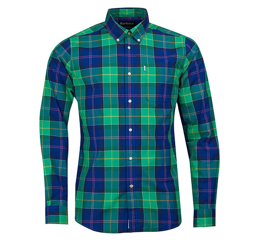 Barbour Toward L/S Shirt - Green