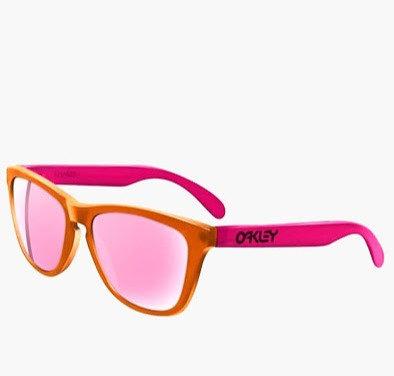 Oakley Frogskins Glasses - Pink  Blacklight