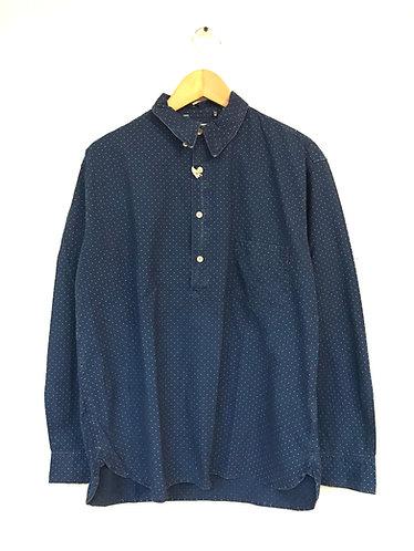 LVC 1920's Pocket Sunset Shirt Wabash Dot - [604810016]