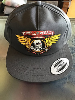 Powell Peralta Hat Winged Ripper Charcoal