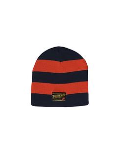 East 4th Skate Stripe Beanie (Navy/Orange)