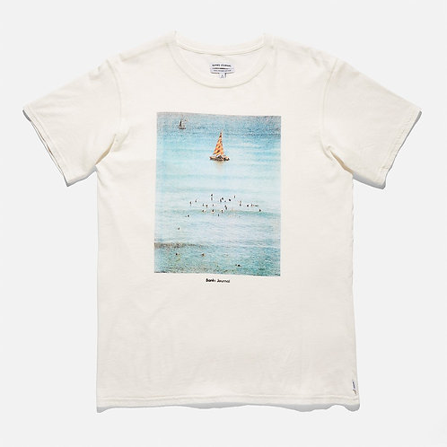Banks Boats Classic Tee - Off White