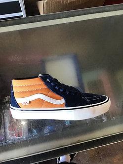 Vans Grosso Mid - Orange/Navy