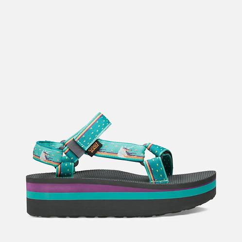 Teva Women's Flatform Universal Sandal - Unicorn Waterfall
