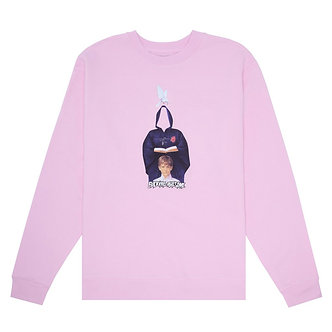 Fucking Awesome Crewneck In The Name Light Pink